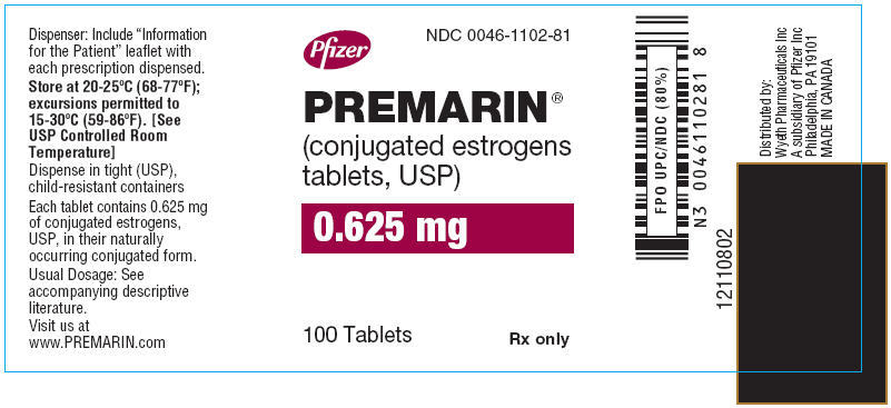 PRINCIPAL DISPLAY PANEL - 0.625 MG – LABEL
