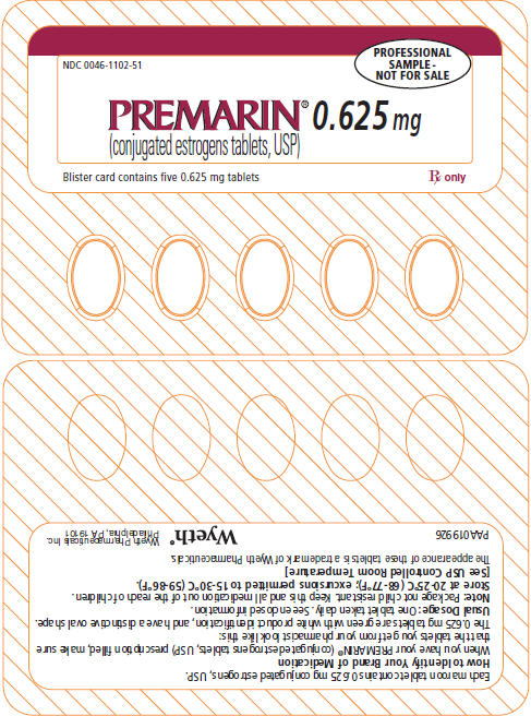 PRINCIPAL DISPLAY PANEL - 0.625 MG - BLISTER CARD