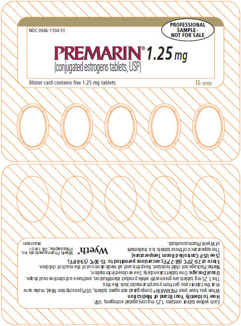 PRINCIPAL DISPLAY PANEL - 1.25 MG – BLISTER CARD
