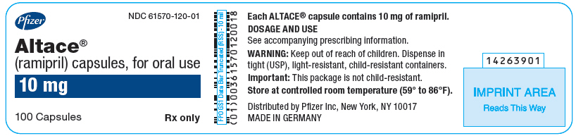 PRINCIPAL DISPLAY PANEL - 10 mg Capsule Bottle Label